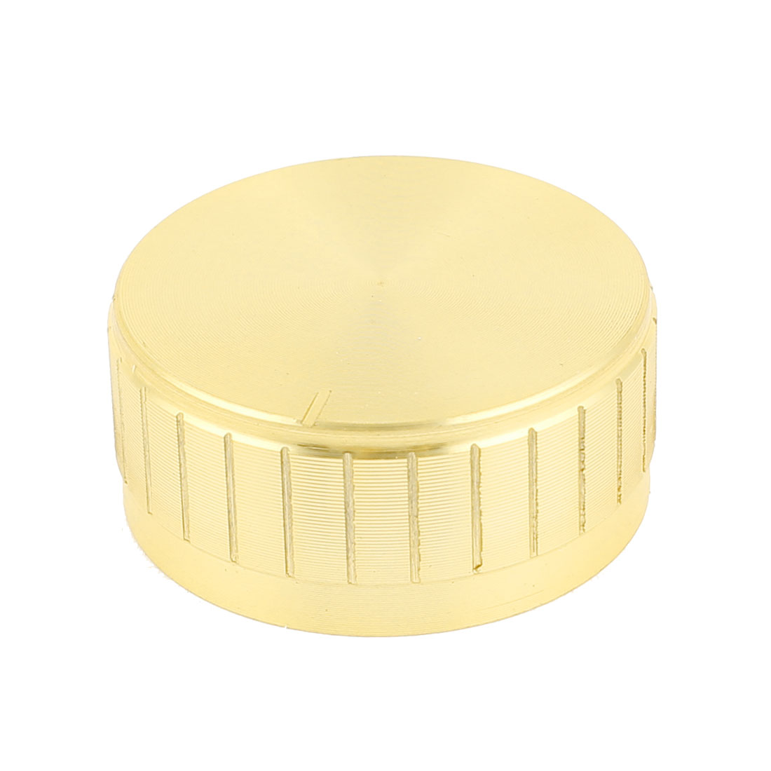 Gold Tone Plastic Potentiometer Rotary Control Knobs Caps 17x40mm