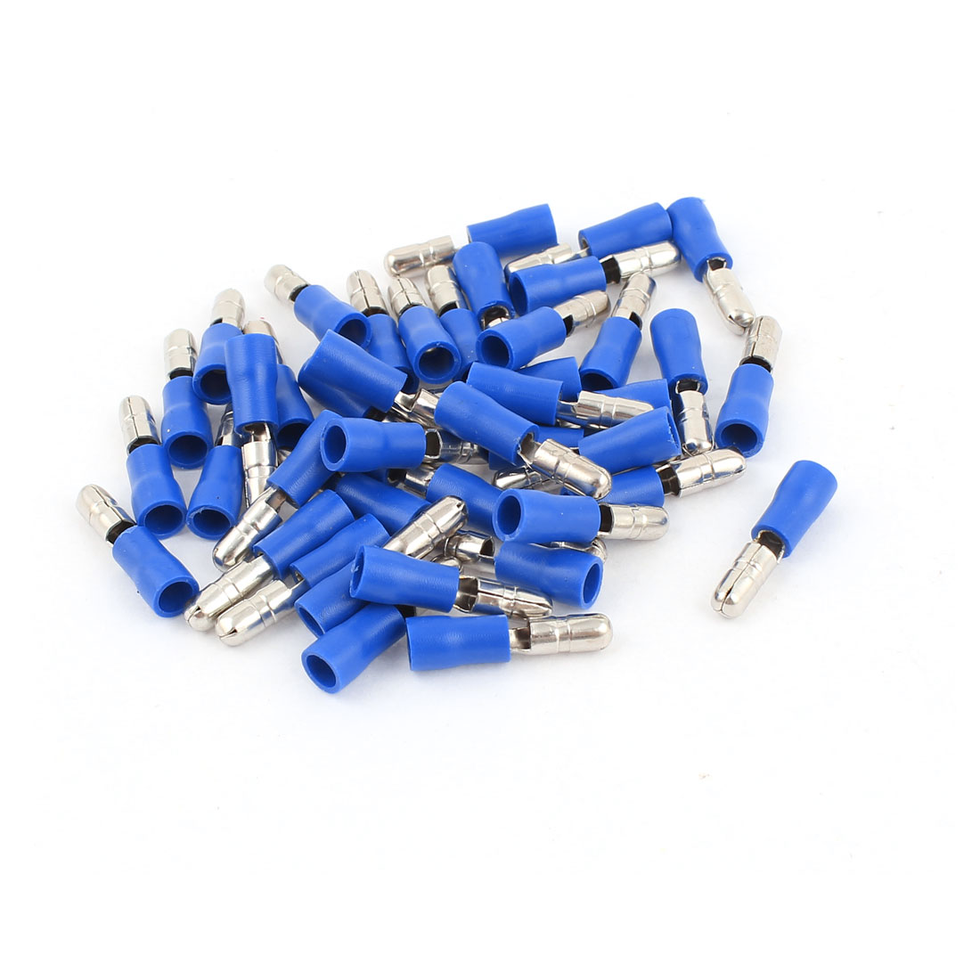 40 Pcs MPD2-156 16-14 AWG Wire Insulated Crimp Terminals Blue