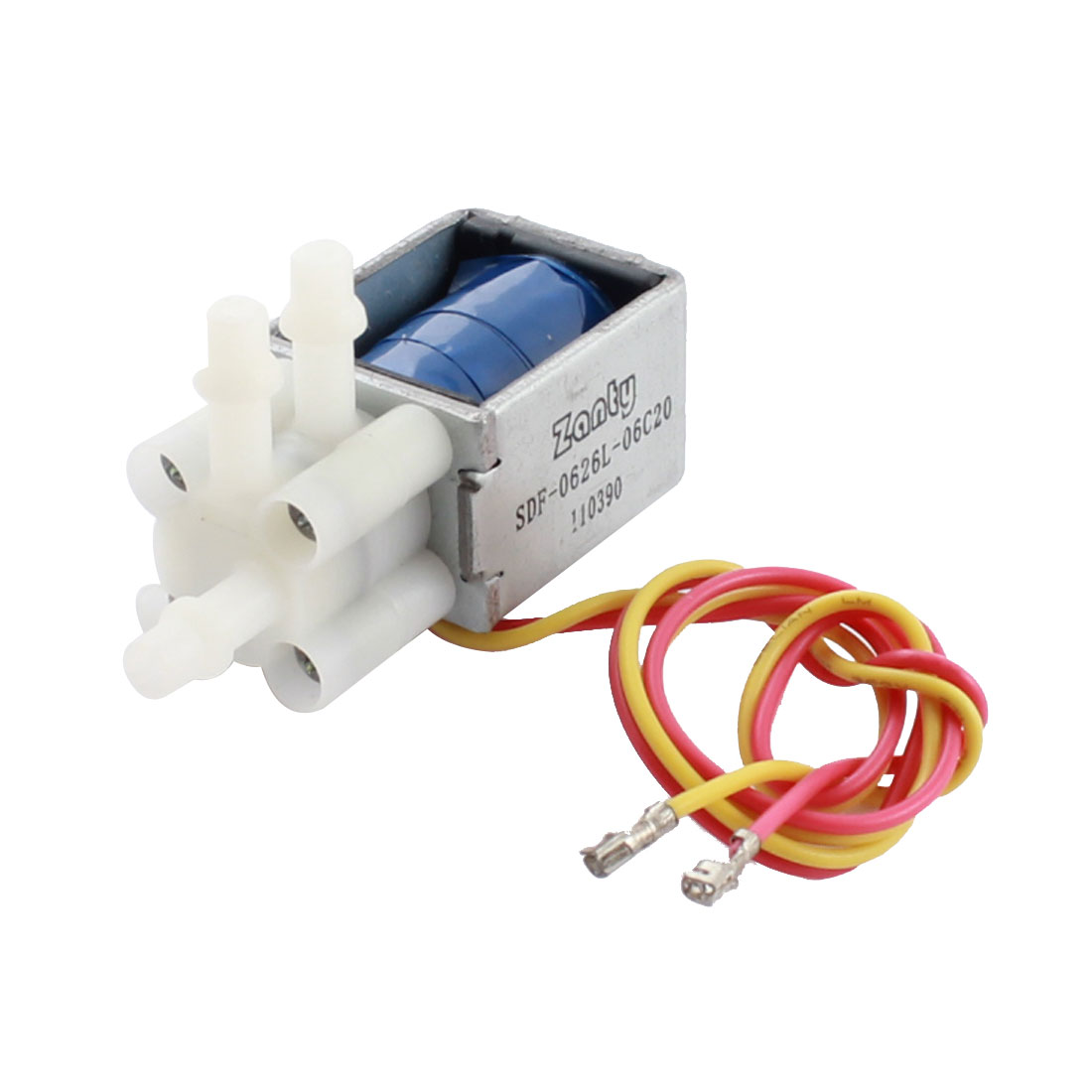 Replacement DC 6V 4mm 3-Ports Open Frame Solenoid Electromagnet Gas Valve