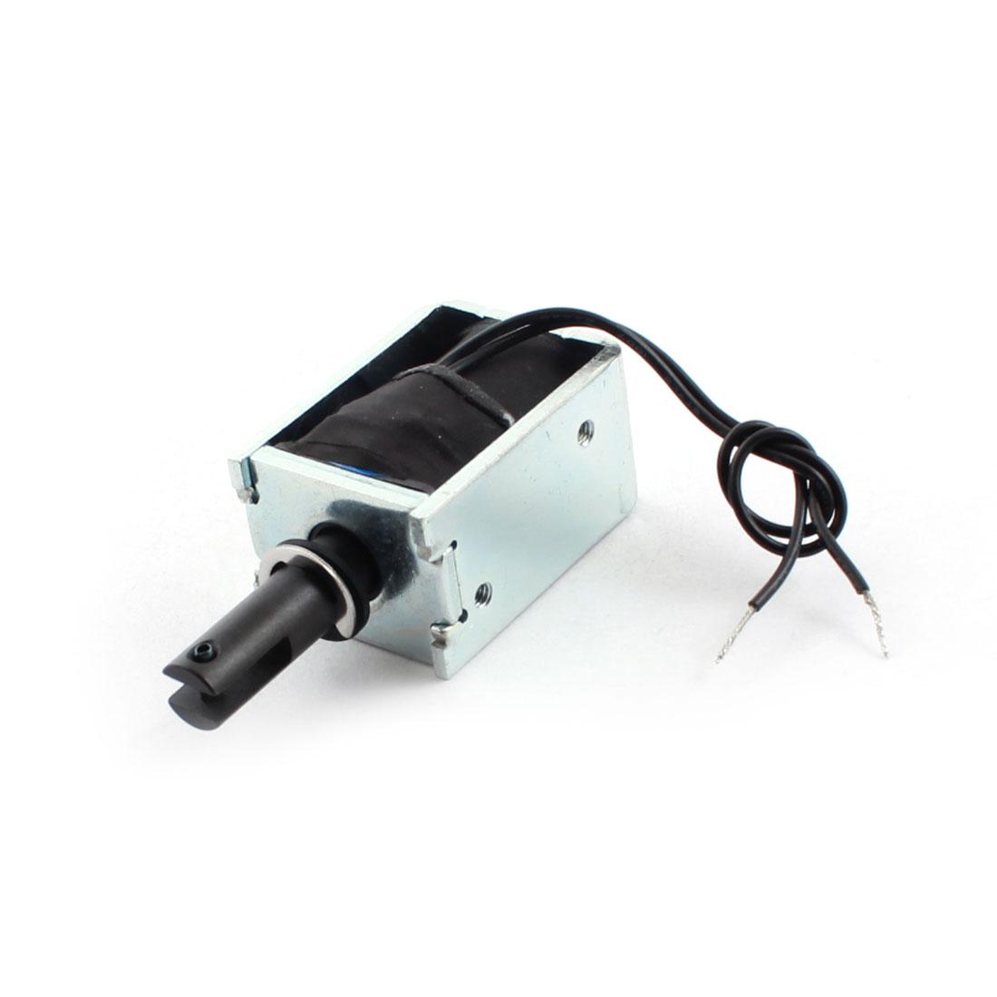 DC 6V 600g/5mm Open Frame Actuator Linear Pull Solenoid Electromagnet