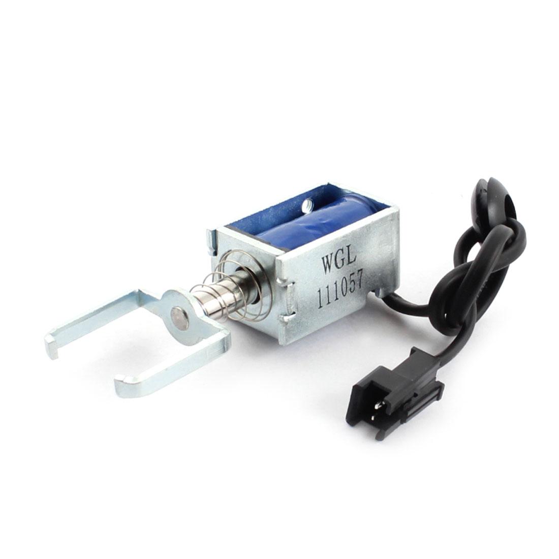 DC 12V 100g/6mm Open Frame Actuator Linear Pull Solenoid Electromagnet