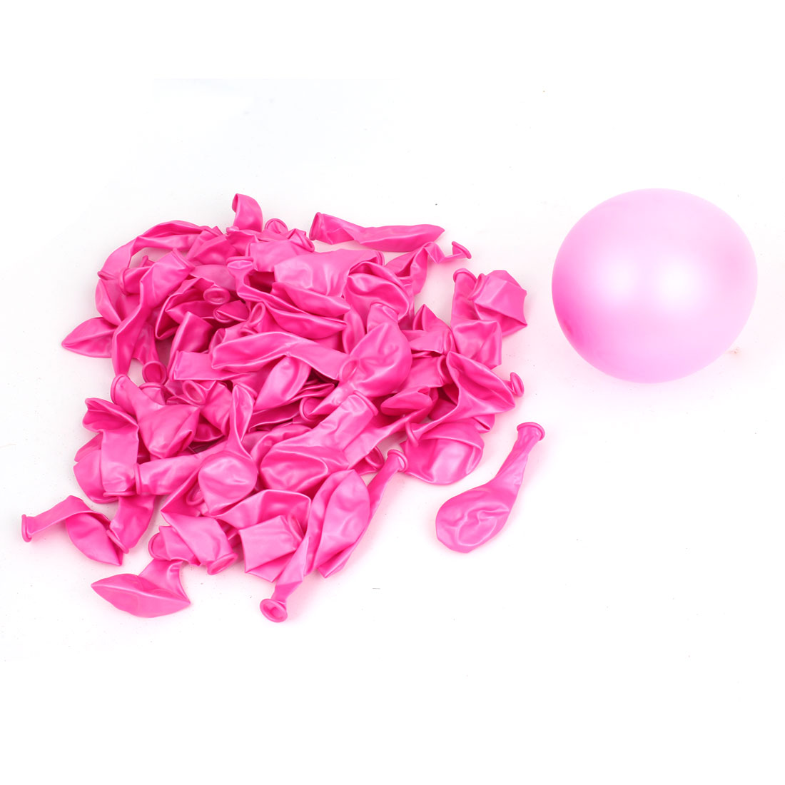 Christmas Wedding Festival Ornament Latex Balloons Fuchsia 200 Pcs