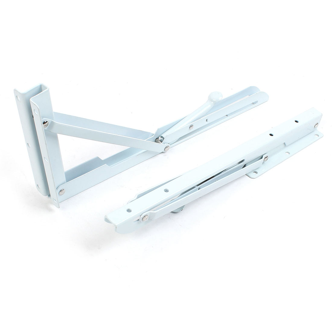 2 Pcs 90 Degree Books Projector Folding Support Shelf Bracket 350mm Long