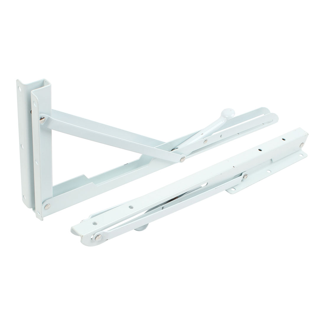 "2pcs Wall Mount Right Angle Store Shop Projector Folding Shelf Bracket 16"" x 6"""