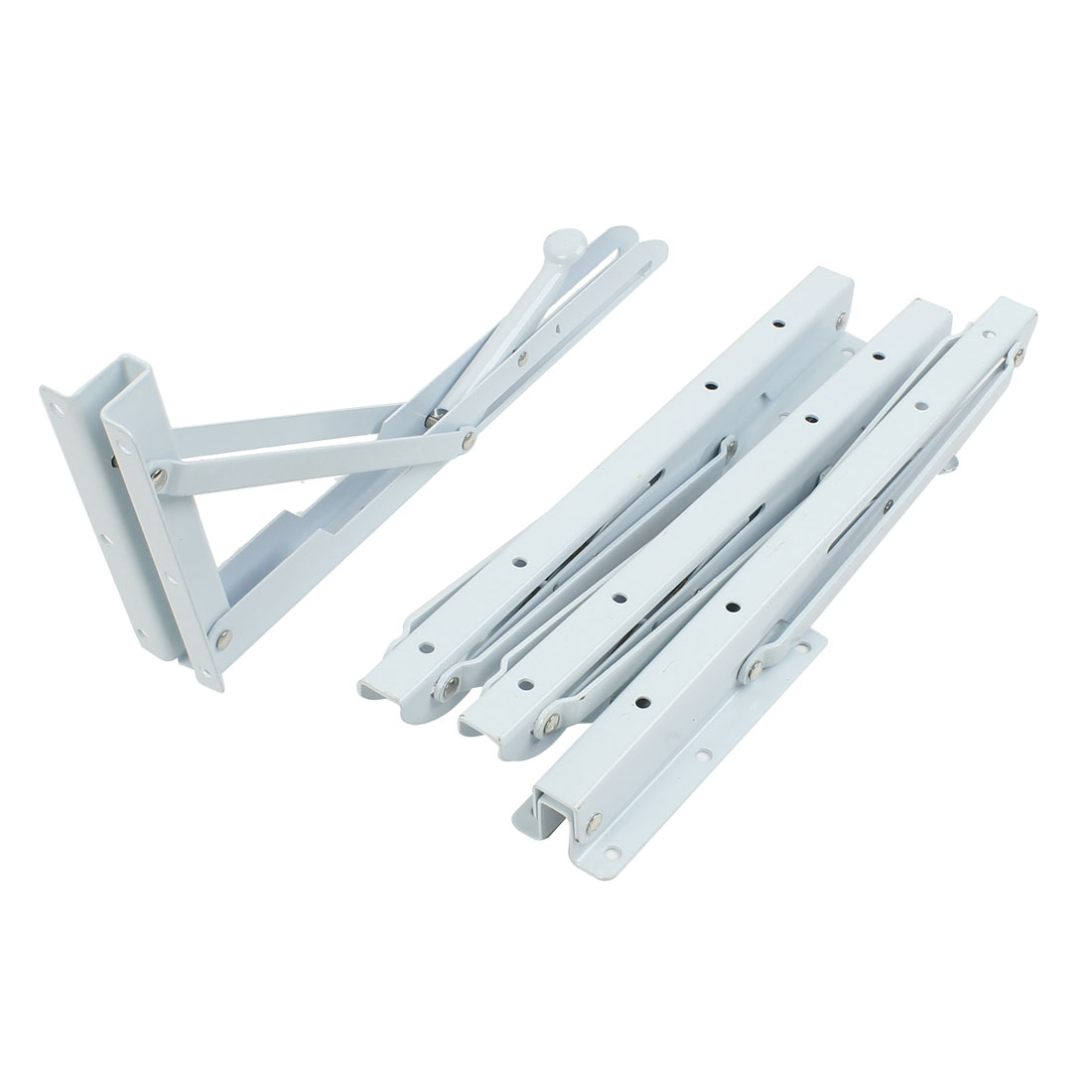 "4pcs Wall Mount Right Angle Store Shop Projector Foldable Shelf Bracket 12"" x 5"""