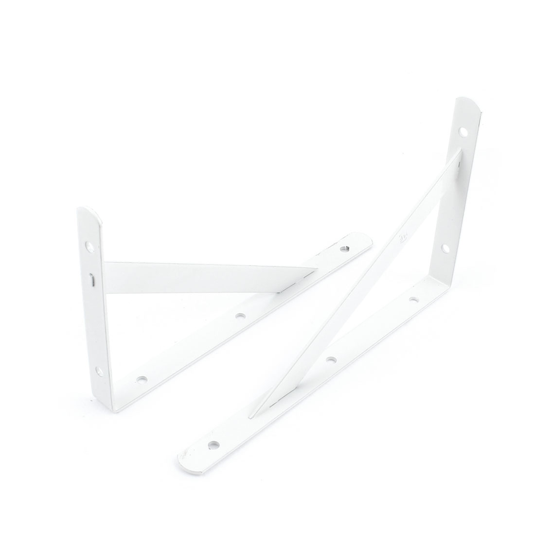 2 Pcs 90 Degree Wall Mount Support Shelf Bracket Frame 200mm x 120mm
