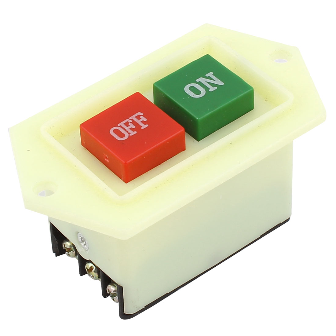 3PST 3 Phase ON OFF Latching Switch AC 380V/220V 5A