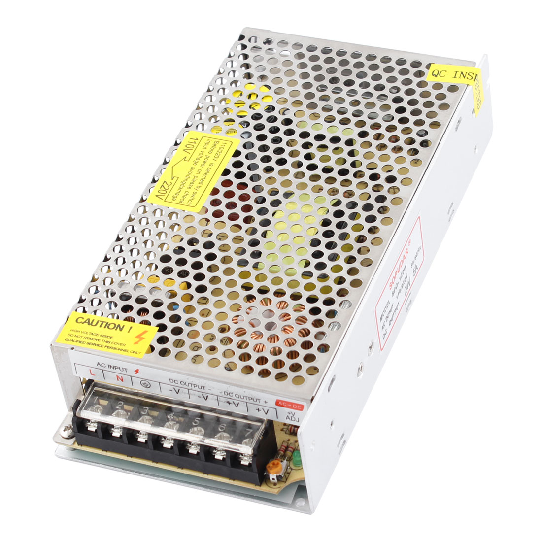 SPD-120W DC 24V 5A 120W 7 Screw Terminals Switching Power Supply Driver for LED Strip Light