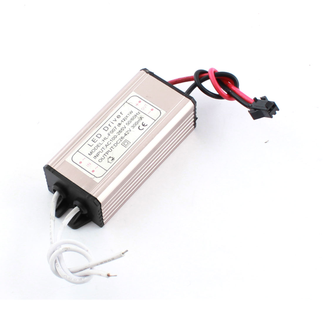 AC 100-265V DC26-42V 300mA Power Supply Driver Adapter for 8-12 X 1W LED Light
