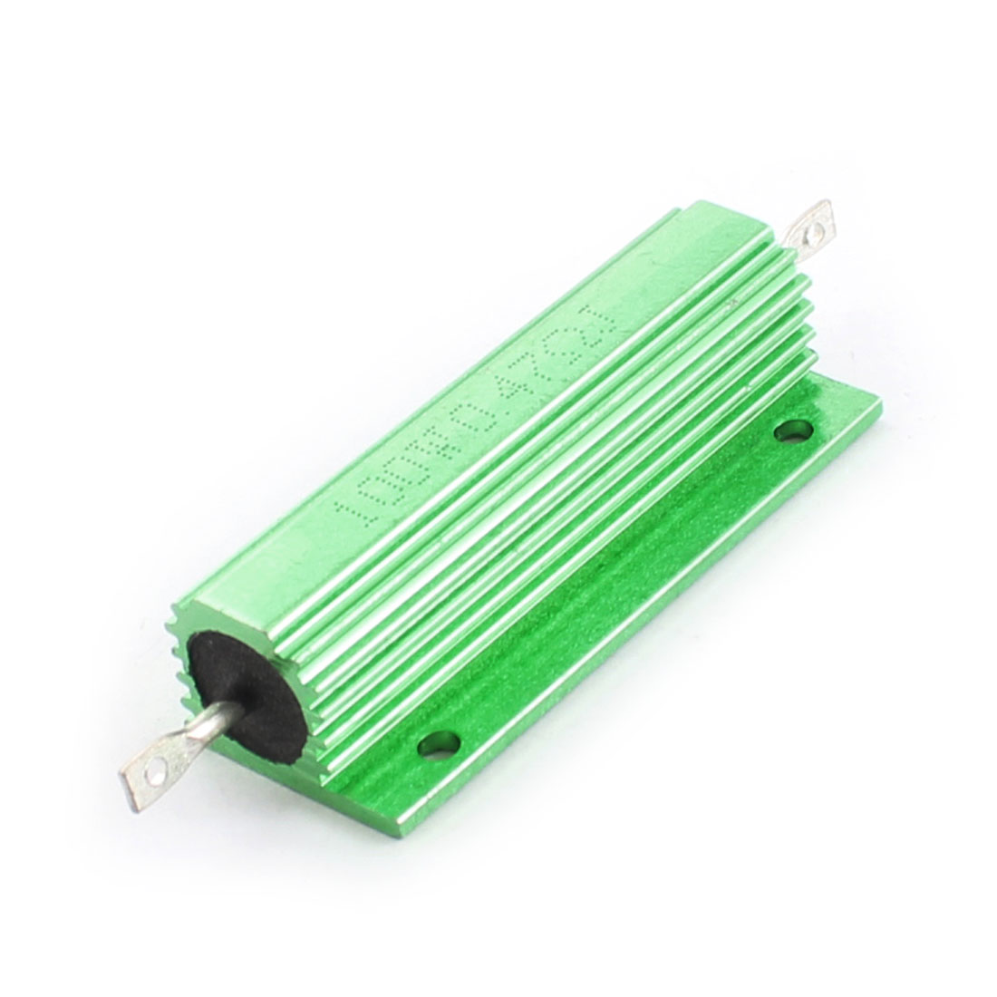 100W 0.47 Ohm Axial Wirewound Aluminum Clad Resistor Green