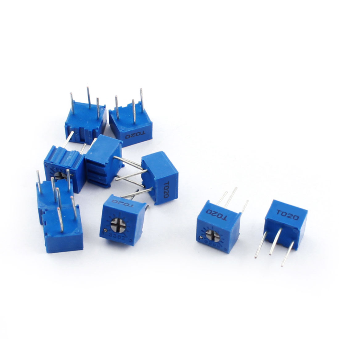 10Pcs Adjustable Potentiometer Trimmer Variable Resistor 3362P-103 10K Ohm