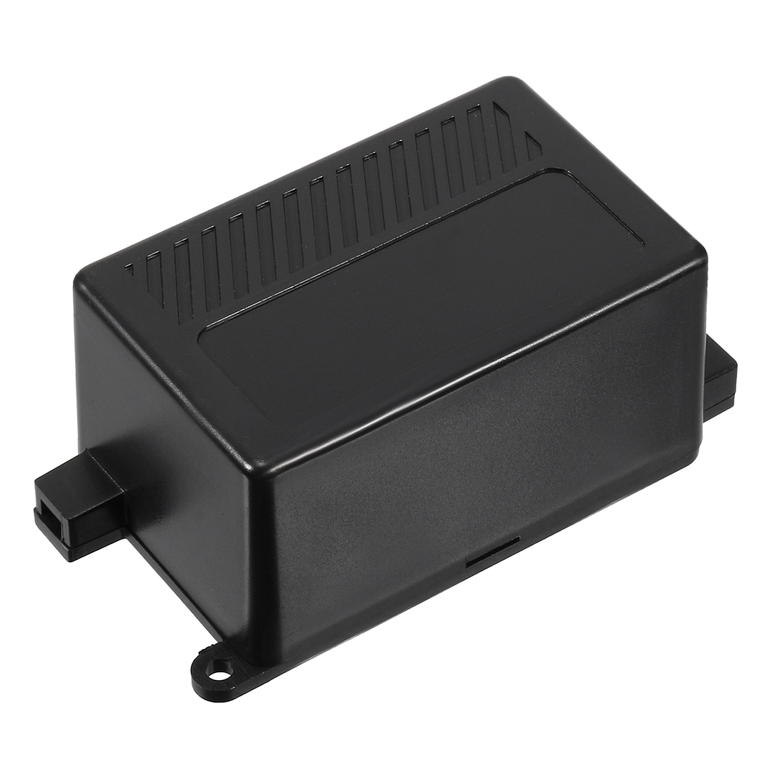 Black Plastic Dustproof IP65 Power Protector Cable Connect Junction Box Enclosure Case 70mmx46mmx36mm