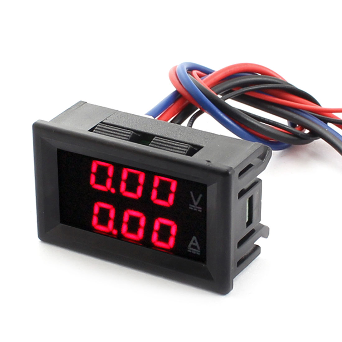 DC 0-100V 0-10A Red Dual LED Digital Volt Voltmeter Ammeter Ampere Gauge