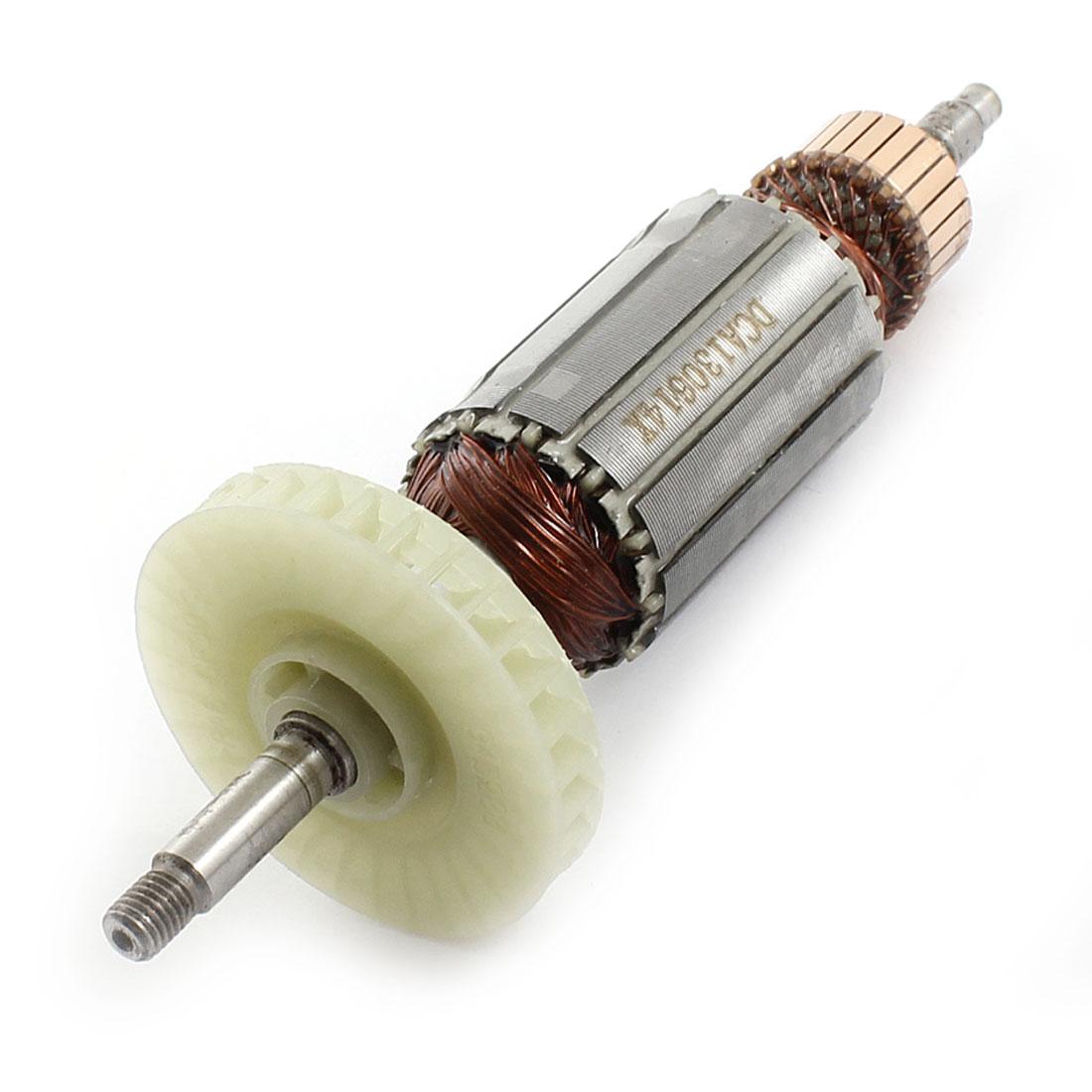 AC220V 8mm Shaft Motor Rotor Armature Replacement for Dewalt 100 Angle Grinder
