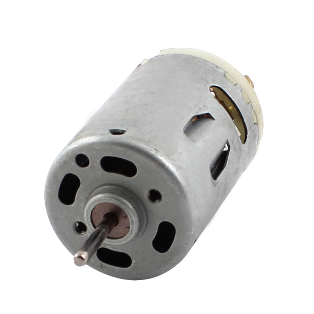 DC12V 500RPM Rotary Speed Output 3mm Dia Shaft High Torque Cylinder Shaped Electric Power Motor