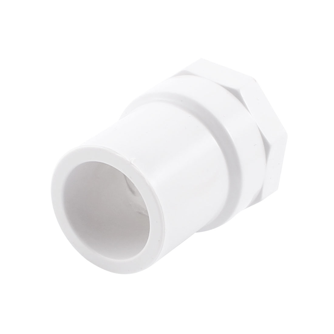 1/2PT Female Thread to 20mm Dia White PVC Water Pipe Quick Fitting Coupling Connector Adapter