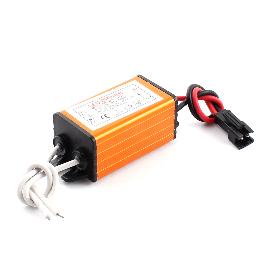 AC 85-265V to DC 6-12V 300mA 3x1W Waterproof Aluminum LED Light Driver Power Supply Adapter Converter