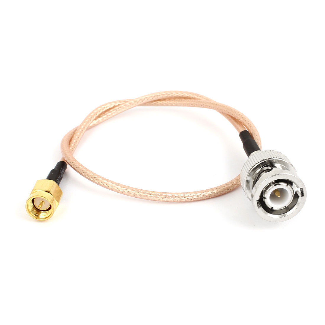 SMA Male Plug to BNC Male Plug M/M Adapter Connector RG316 Coaxial Cord 30cm 12""