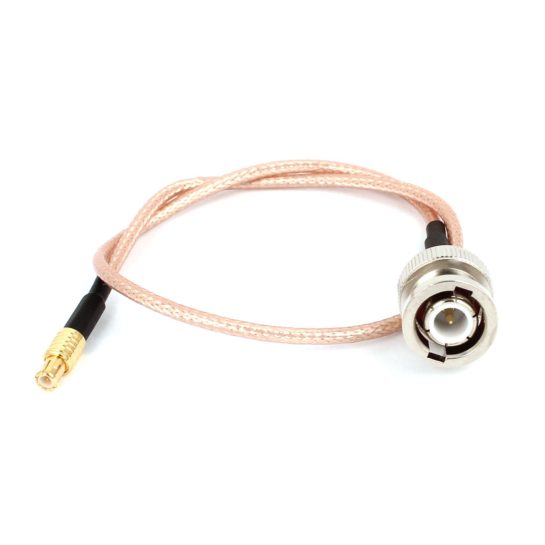 BNC Male to MCX Male Plug M/M RG316 Coaxial RF Connector Adapter Cable Lead 30cm