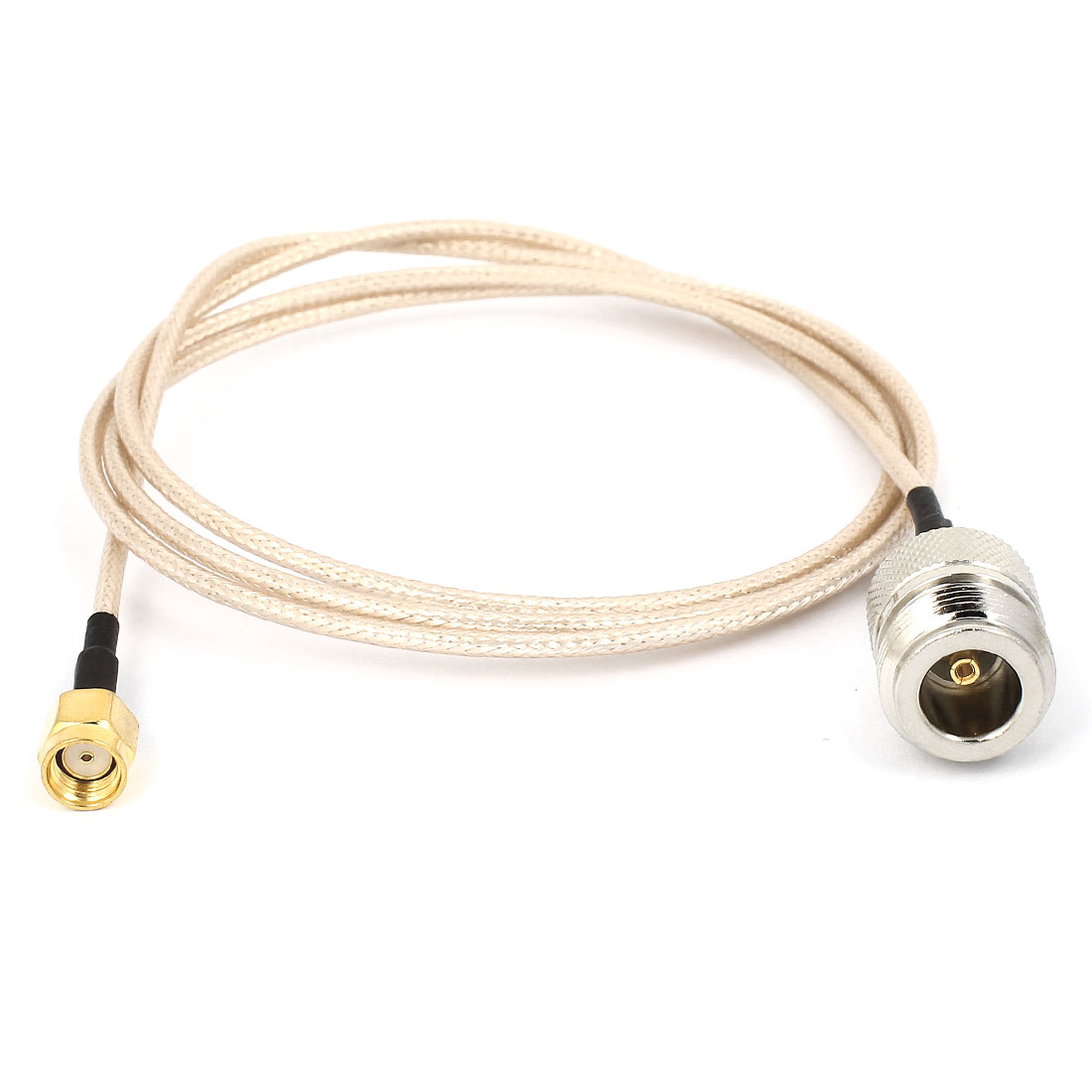 Type N Female to RP-SMA Male F/M Adapter Connector Pigtail RG316 Coax Cord 100cm