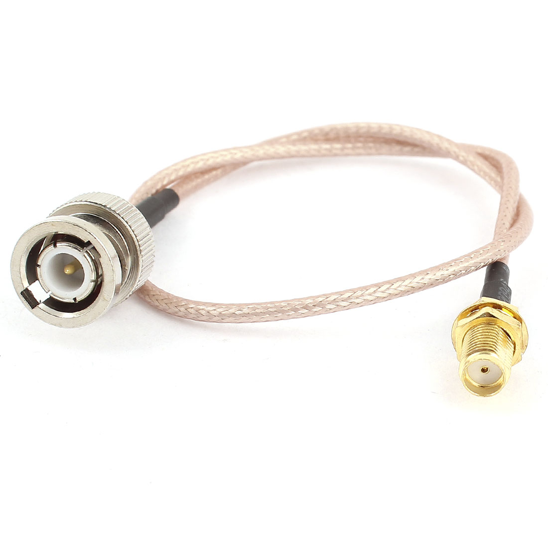 Straight SMA Female Jack to BNC Male Connector RG316 Adapter Cable 30cm 12""