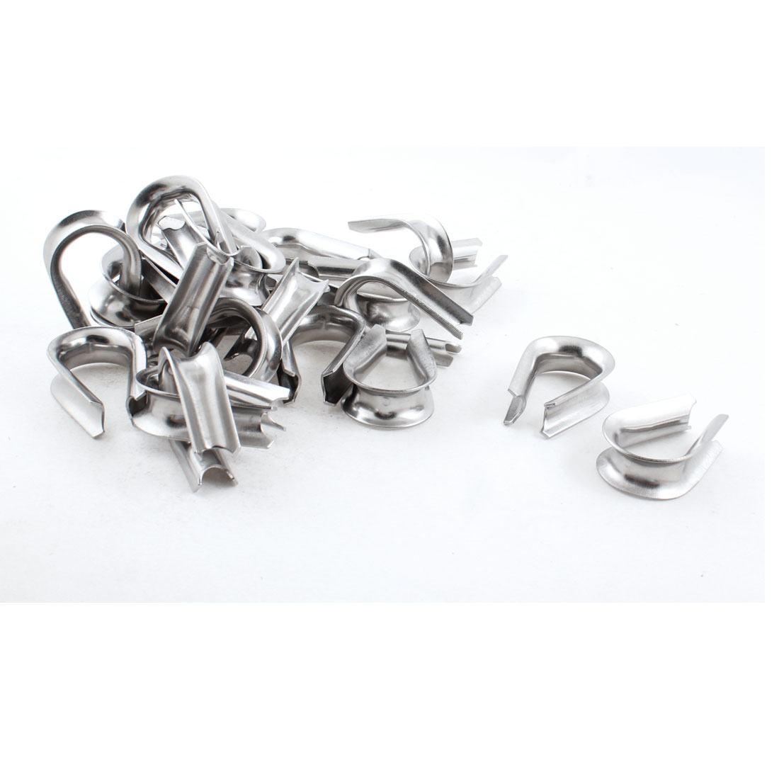 25 PCS Stainless Steel Cable Thimbles Lifting Gear for 12mm Wire