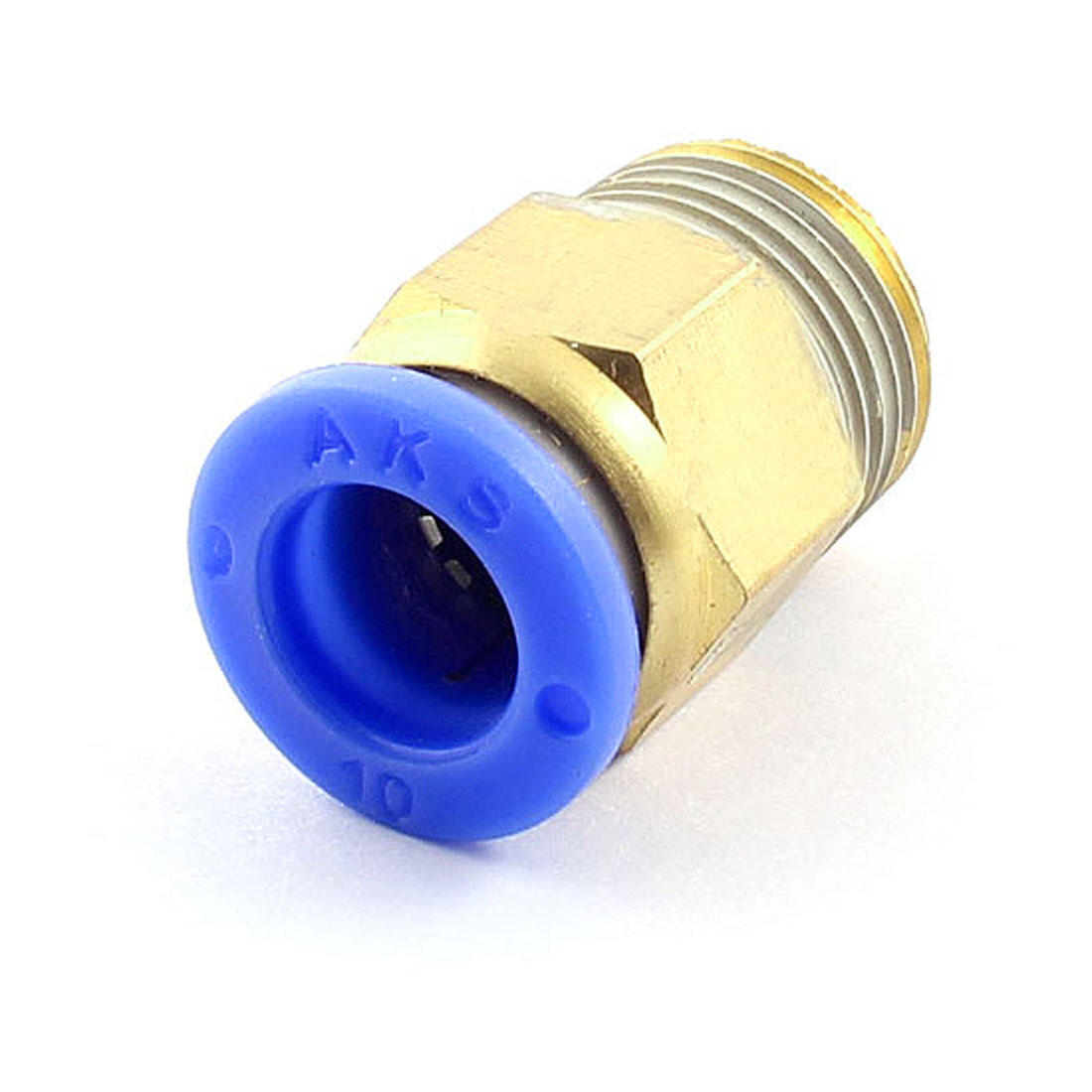 3/8PT x 10mm Straight Pipe Hose Connector Air Pneumatic Quick Coupler Coupling Fitting