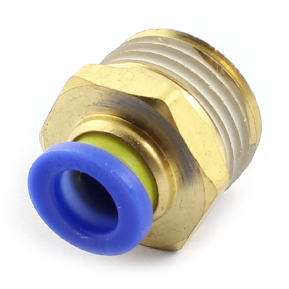1/2PT Male Threaded Straight Air Pneumatic Quick Coupler Coupling Joint Hose Connector for 8mm OD Push in Pipe