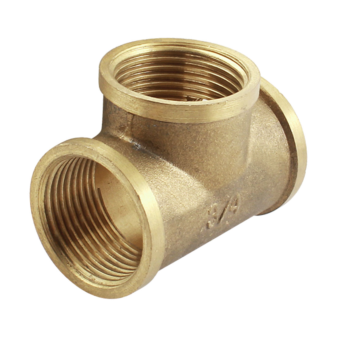 3/4PT to 3/4PT F/F Thread T-Shaped Air Pneumatic Quick Coupler Fitting Connector Coupling Joint