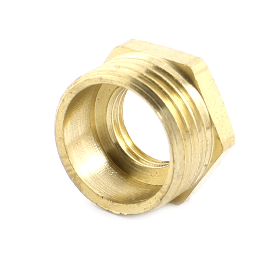 1/2PT x 1/4PT Male/Female Thread Air Pipe Hose Tube Fittings Hex Head Socket Adapter Connector Plug Caps