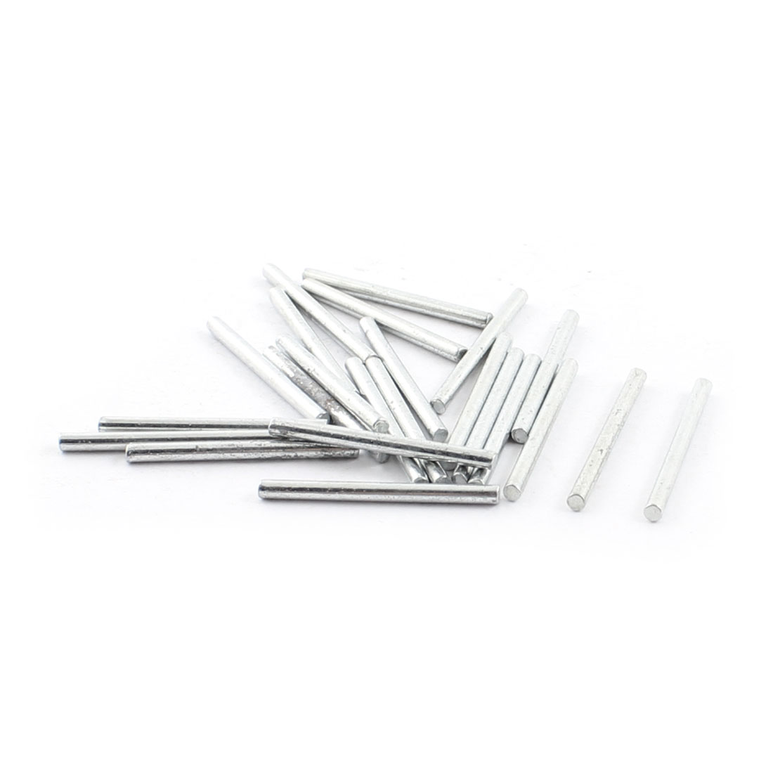 "23Pcs 2mm Diameter Stainless Steel Motion Axle Circular Round Rod Bar 1"" Long"