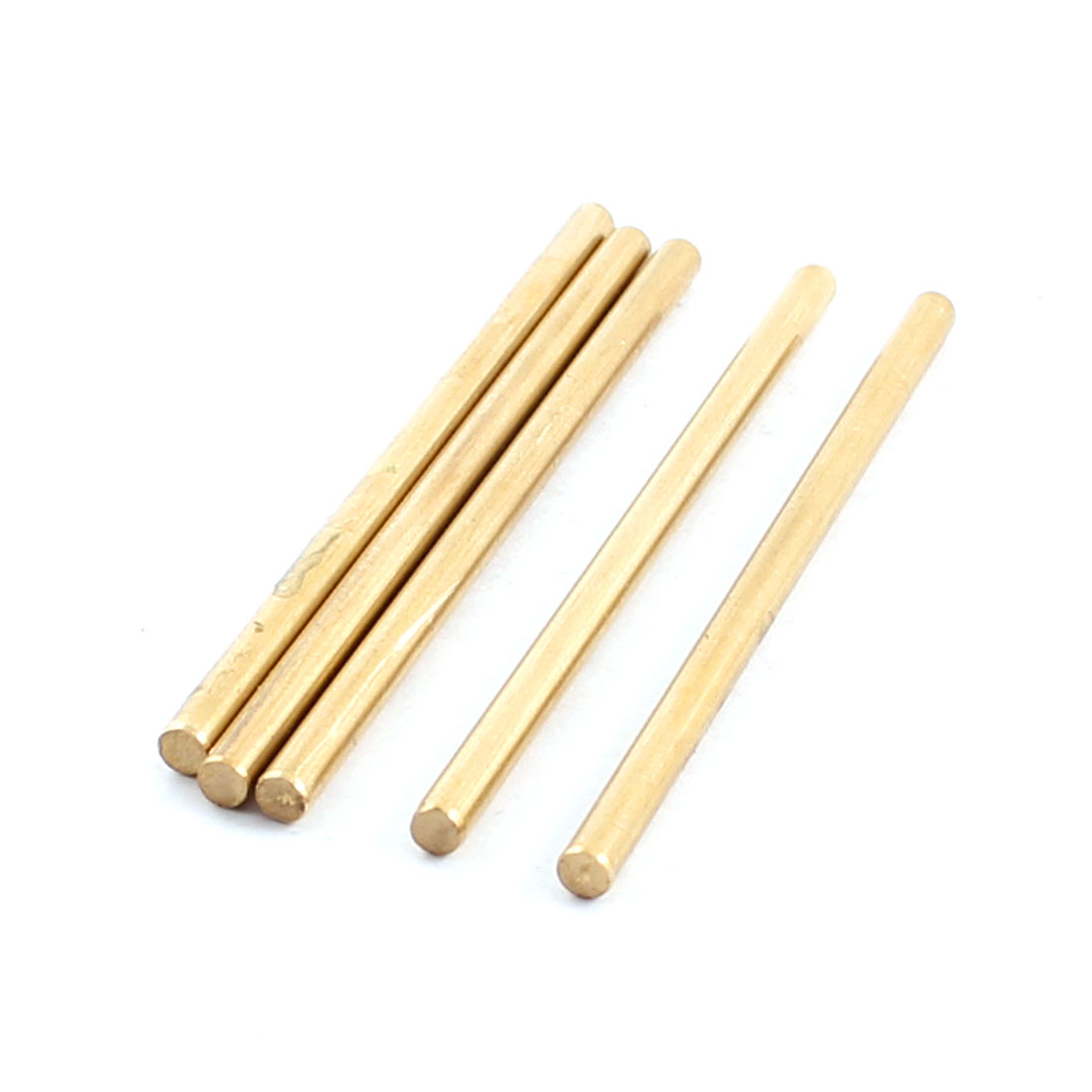 5Pcs 3mm Dia 60mm Length Brass Round Rod Shaft for RC Toy Car