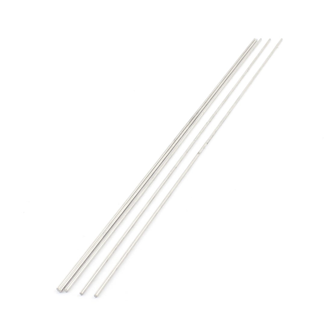 5Pcs 2mm Dia 350mm Length Stainless Steel Round Rod Shaft for RC Toy Car