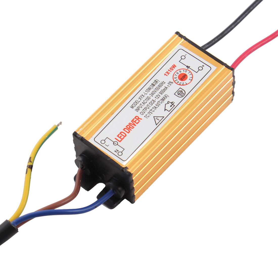 AC 100-240V 50/60Hz DC 6-12V 900mA 0.9A 10W LED Driver Power Supply Converter