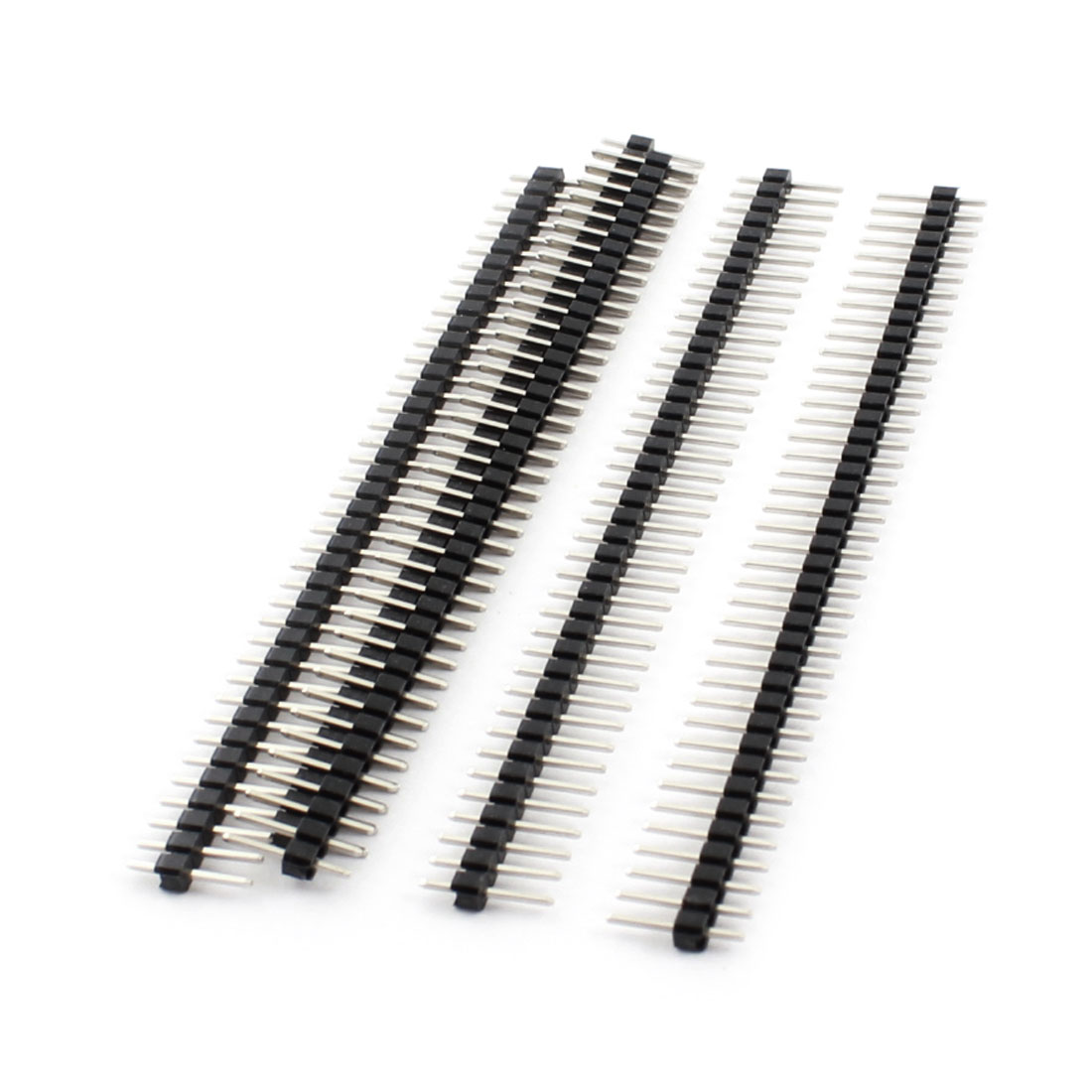 5Pcs 40 Pin 2.54mm Pitch Straight Single Row PCB Board Pin Headers