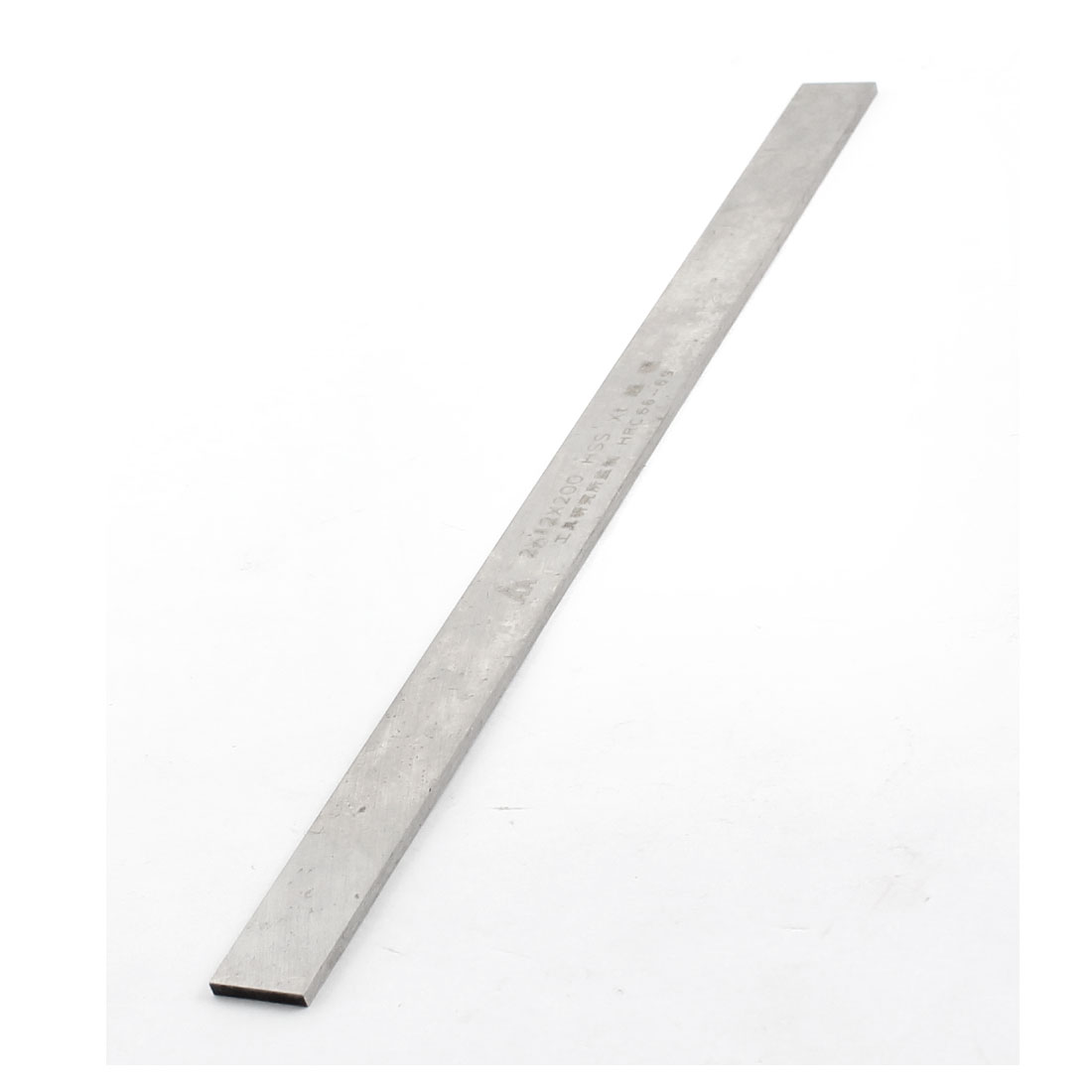 Parallelogram Silver Tone High Speed Steel Parting Turning Milling Lathe HSS Tool Bit 2mm x 12mm x 200mm
