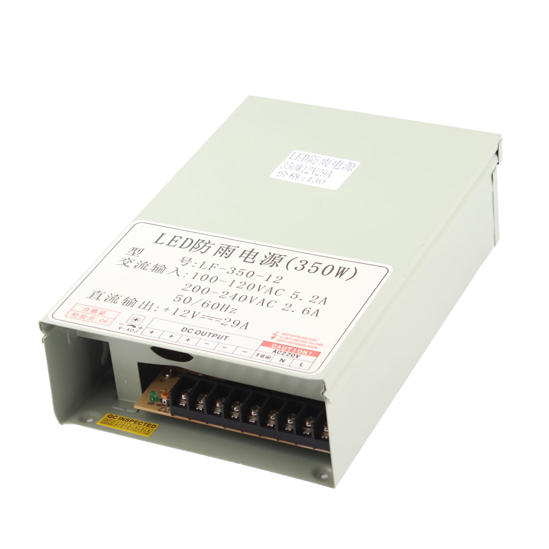 AC 100-120V to DC 12V 29A 350W Switching Power Supply for LED Strip Light