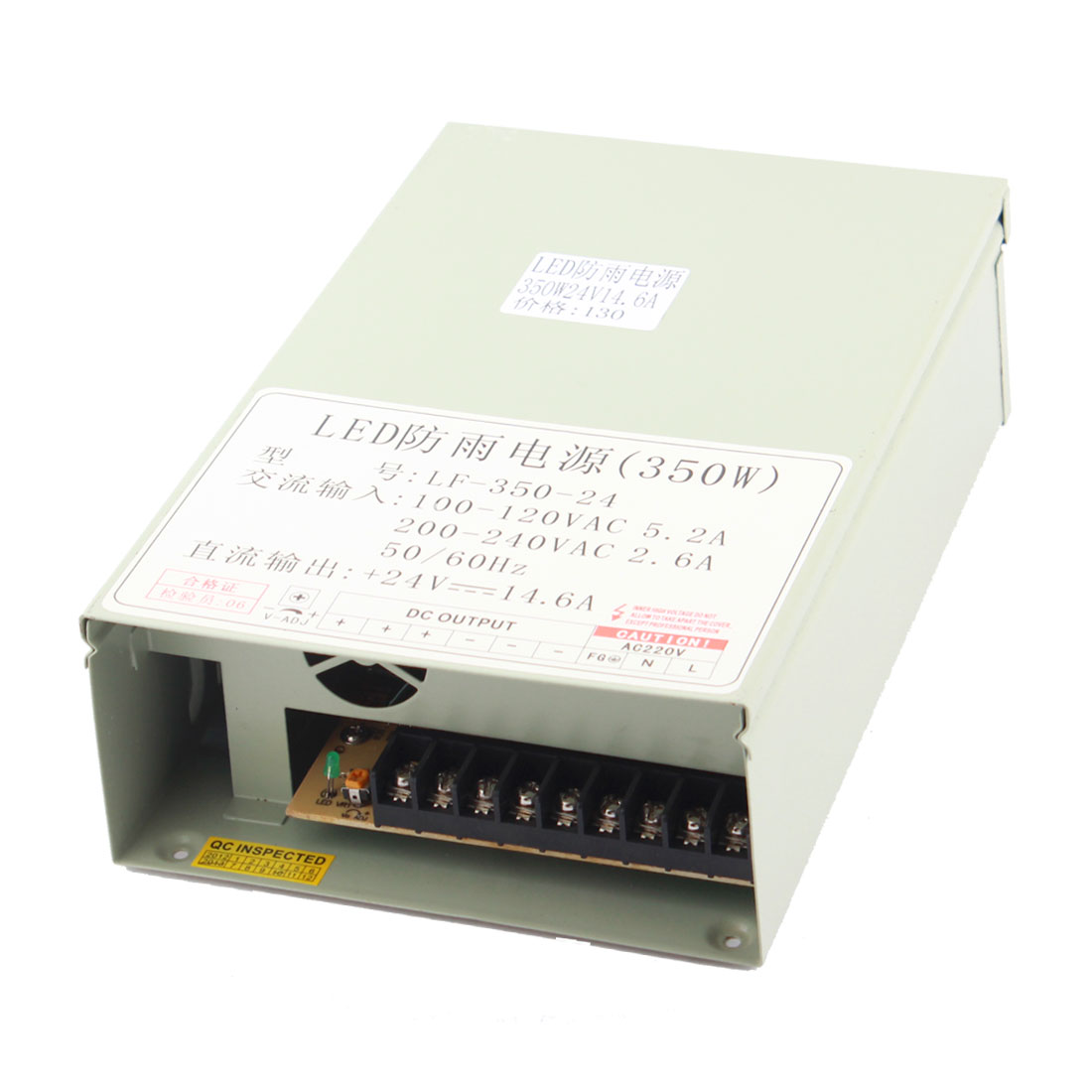 AC 100-120V to DC 24V 14.6A 350W Switching Power Supply for LED Strip Light
