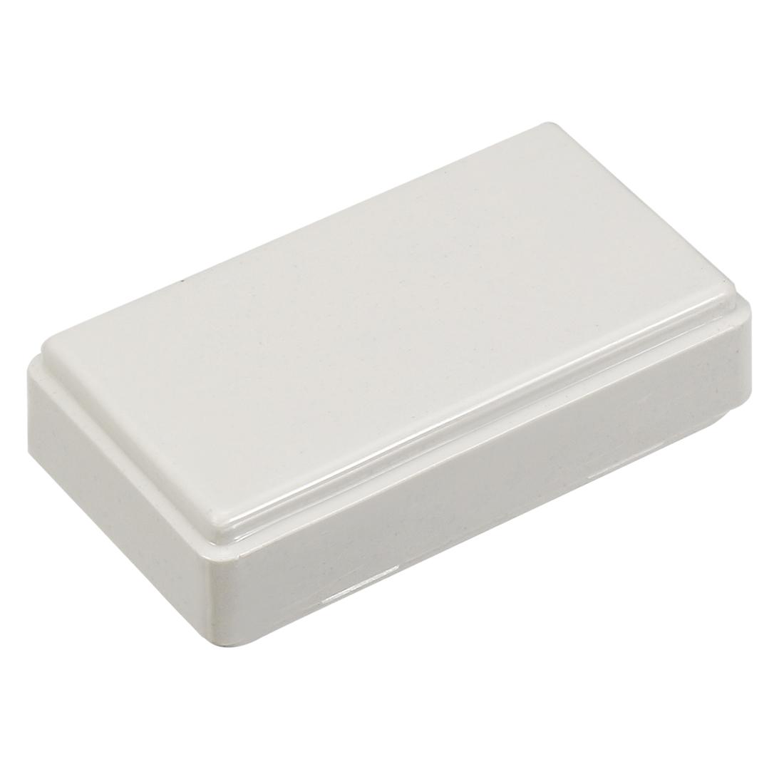 50mm x 25mm x 15mm Rectangular Beige Plastic Electric Case DIY Junction Box
