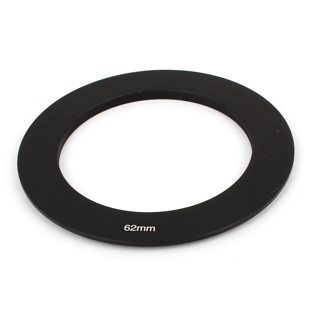Camera Lens Filter Holder Aluminum Adapter Ring Black 62mm for Cokin P Series