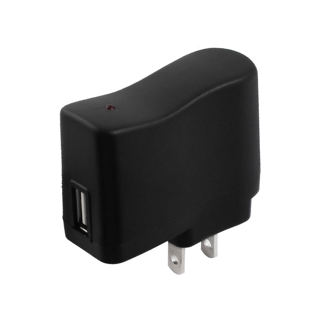US Plug to USB Female Socket AC 110-240V DC 5V Power Converter Adapter