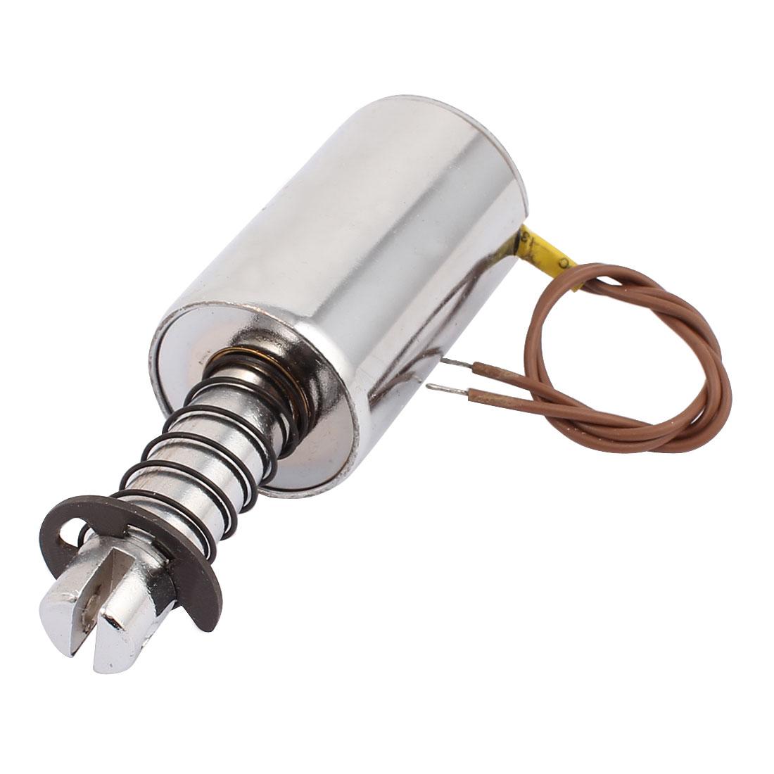 DC 24V 10mm Stroke 5.5~12Kg Force Pull Type Solenoid Electromagnet