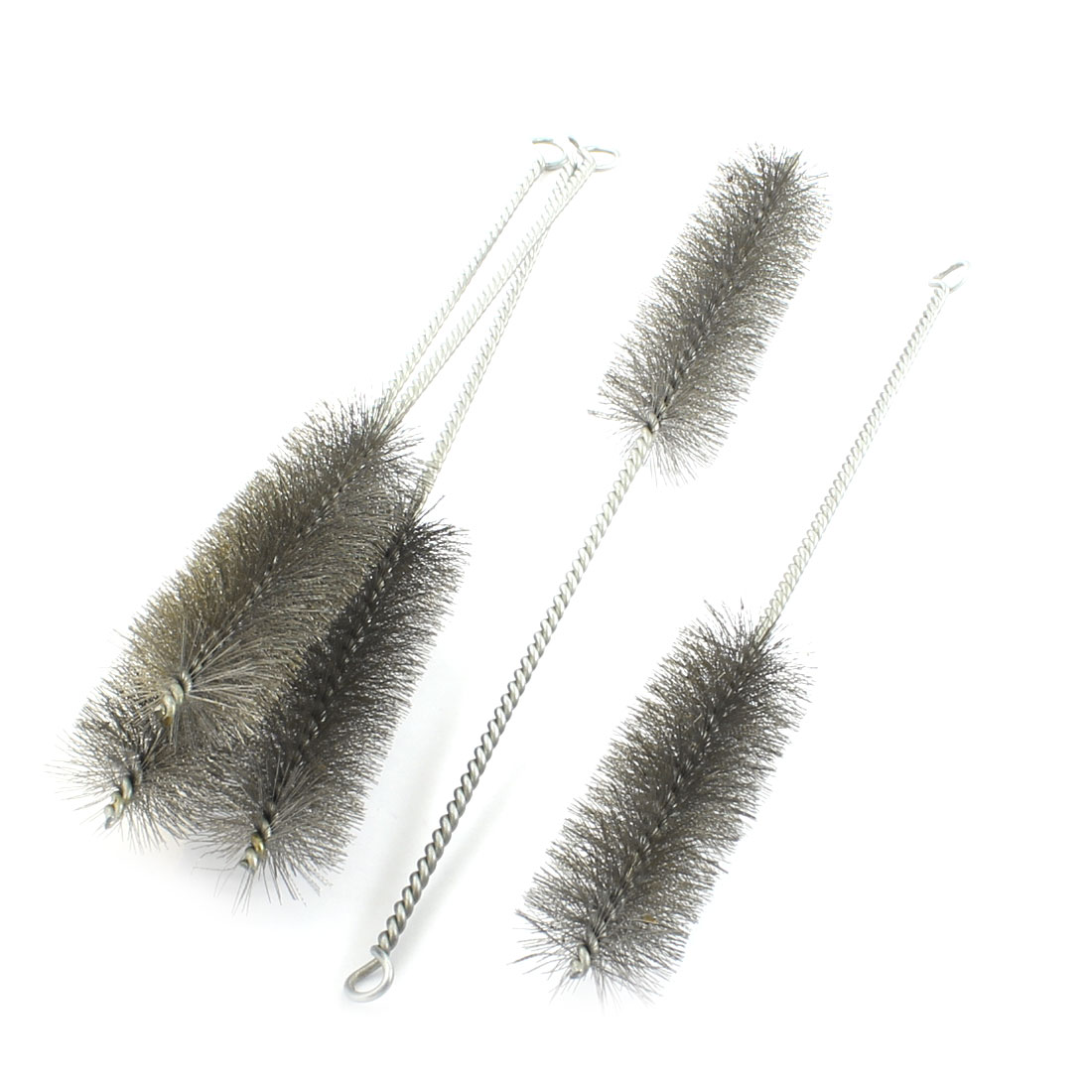 5Pcs 40mm Diameter Steel Wire Tube Brush Cleaning Tool 32cm Length