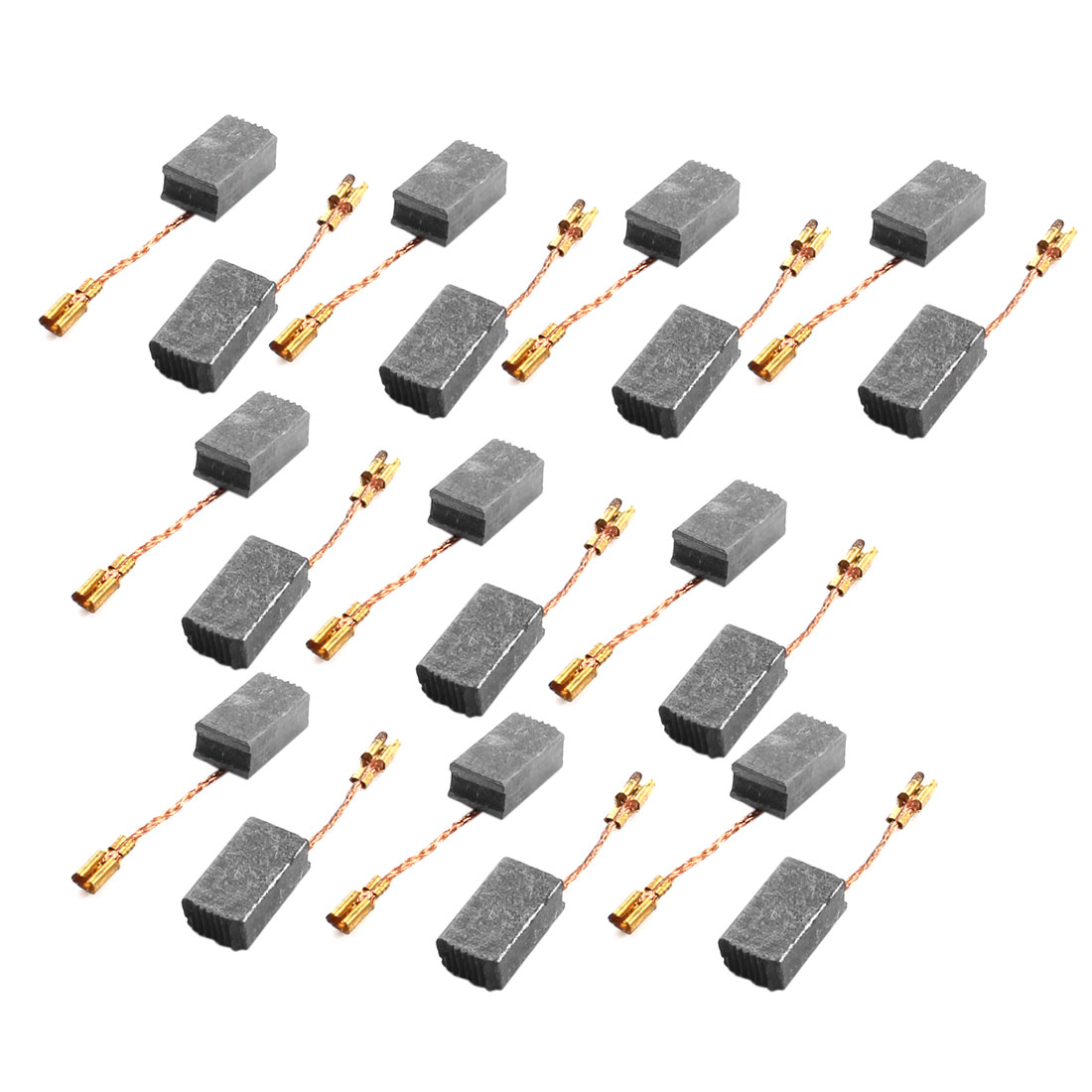 20 Pcs Electric Tool Spare Part 16mm x 9mm x 6mm Motor Carbon Brush