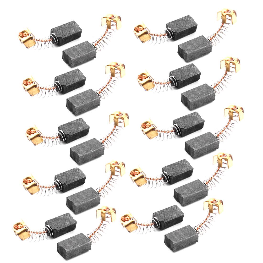 20 Pcs CB64 Electric Tool Spare Part 13mm x 8mm x 5mm Motor Carbon Brush