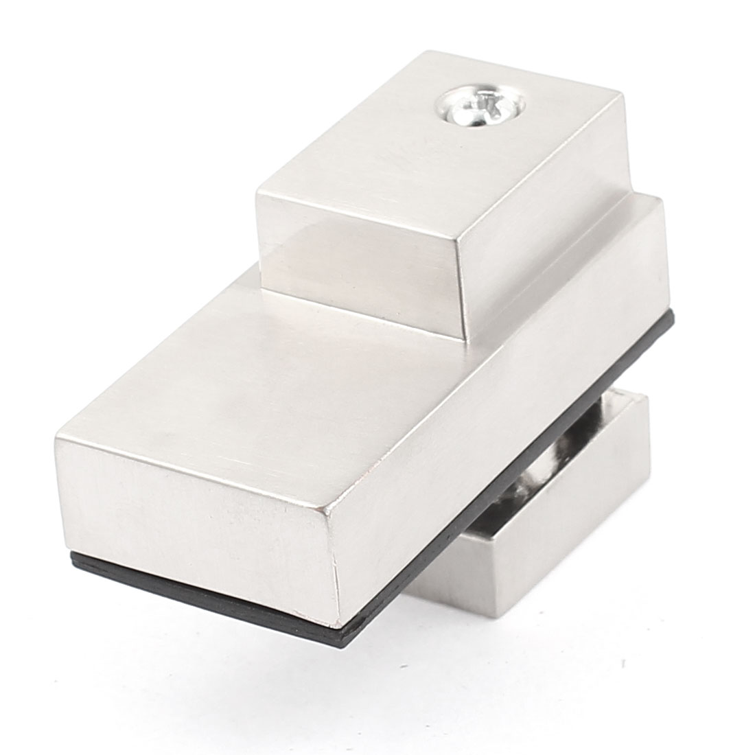 5mm-20mm Thickness Satin Nickel Adjustable Glass Shelf Clip Clamp