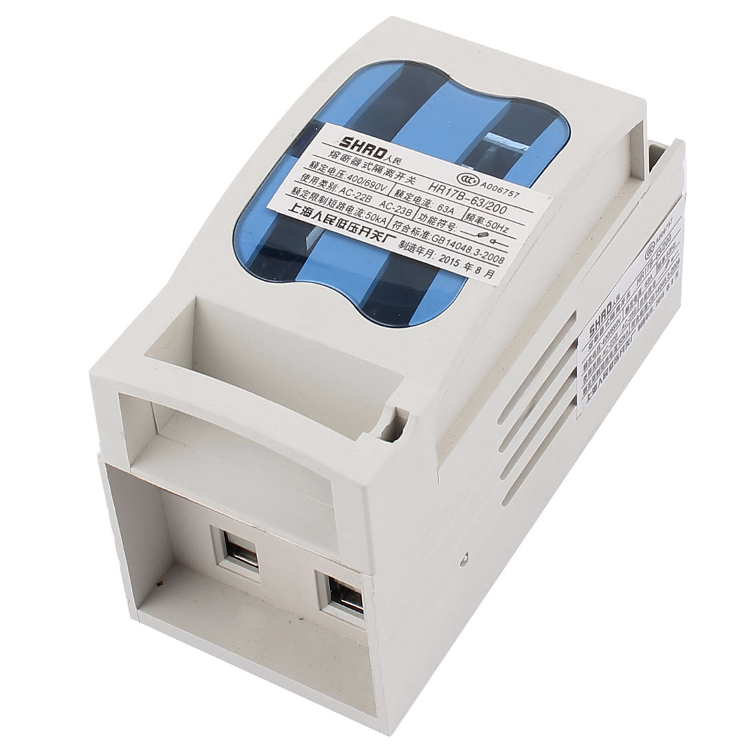 AC 400V/690V 63A Circuit Protector Fuse Type Disconnect Isolating Switch