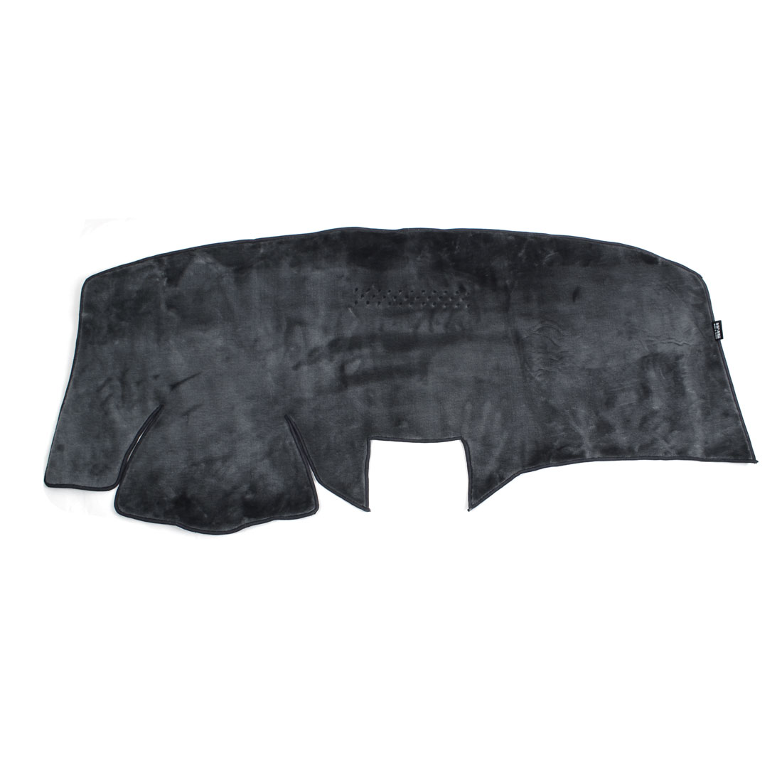 Car Dashboard Sun Cover Mat Carpet Black for 2008 Ford-3 Carnival