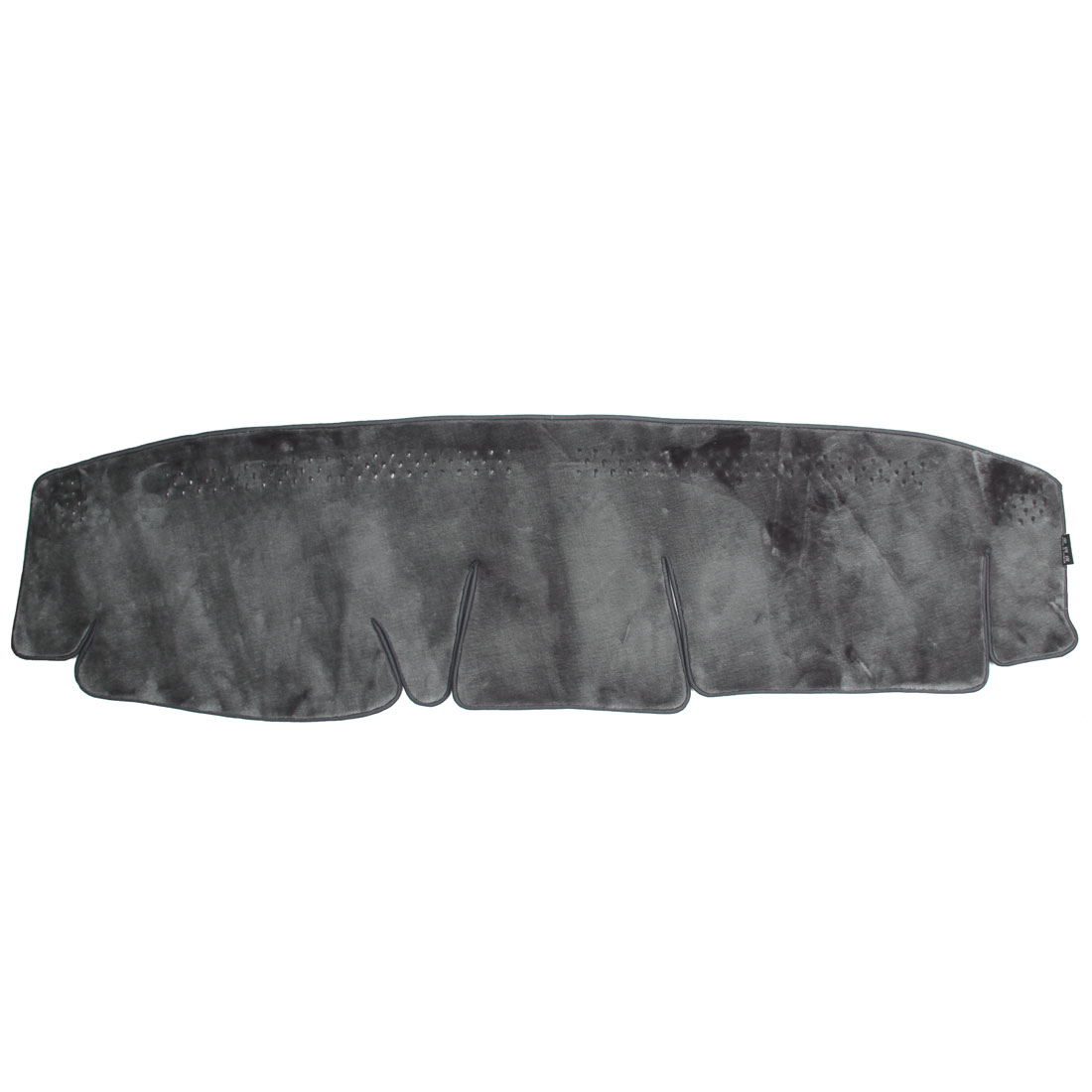 Car Dashboard Plush Sun Cover Mat Carpet Gray for Honda-2 2006 CRV