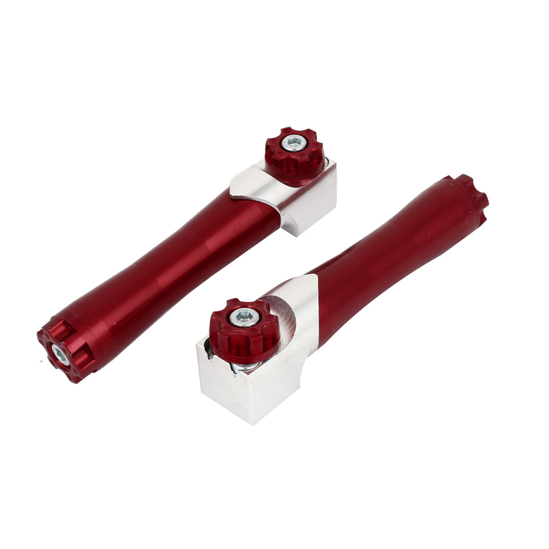 2 Pcs Front Shock Absorber Cylinders Decorative Bottles Red 14cm Length